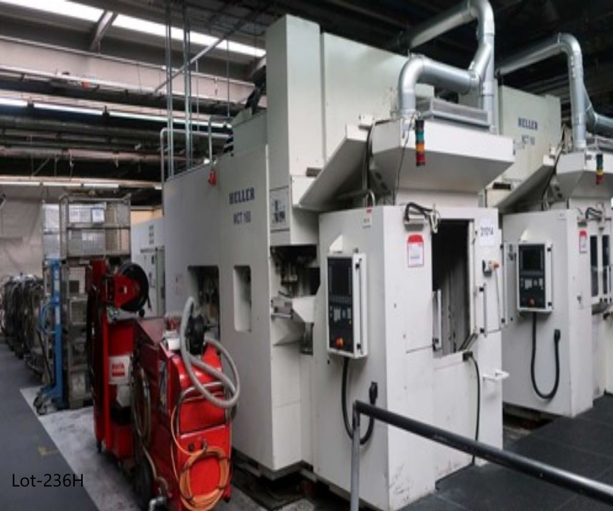 MCT 160 Horizontal Double Spindle Machining Center